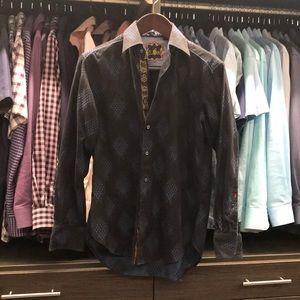Men's long sleeve button down shirt